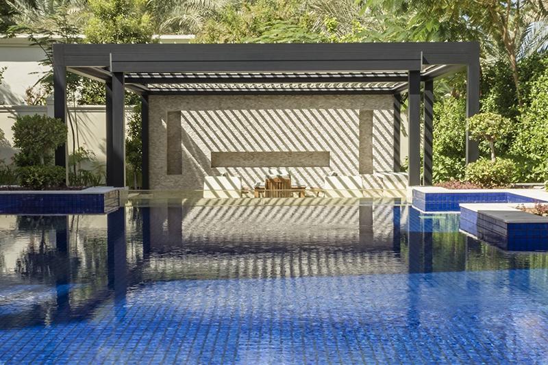 Pergolas for outdoor pool
