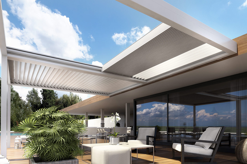 Pergolas for outdoor pool